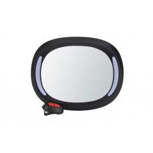 Μεγάλος Βοηθητικός Καθρέπτης LED Αυτοκινήτου για μωρά με Control 29x21x8cm