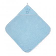 Βρεφική πετσέτα μπάνιου Lorelli 80x80cm blue