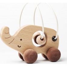Ξύλινο ελεφαντάκι για παιδιά 3+ ετών