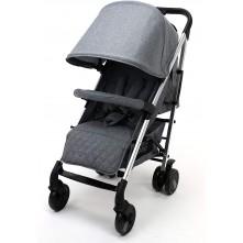 Παιδικό Καρότσι Μπαστούνι Asalvo Moma Plus Alumimium έως 22kg - Grey