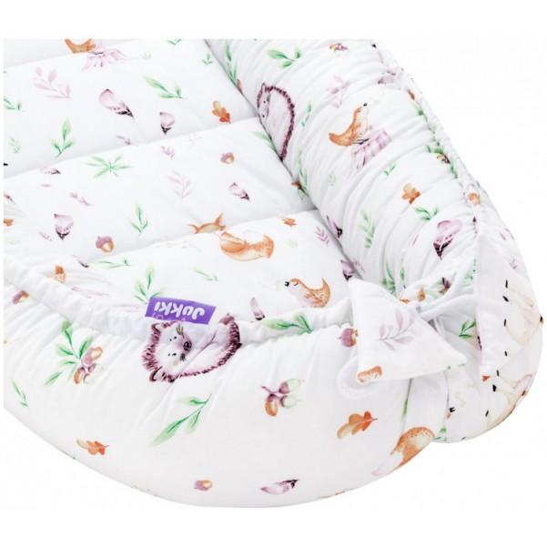 Jukki Baby Nest Cocoon - Φωλιά Για Βρέφη 2πλης όψης - Sweet Animals