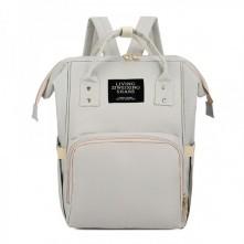 Τσάντα πλάτης μωρού L.T.S γκρι
