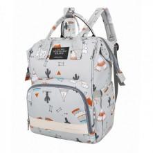 Τσάντα αλλαξιέρα μωρού πλάτης L.T.S ινδιάνοι