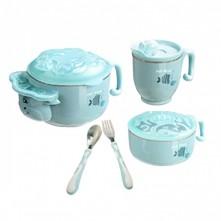 Grinder set φαγητού γαλάζιο Hot Mom