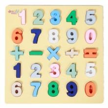 Ξύλινοι αριθμοί για παιδιά 3+ ετών