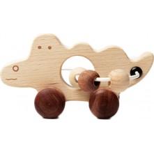 Ξύλινο κροκοδειλάκι για παιδιά 3+ ετών
