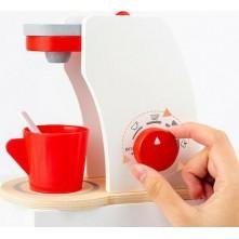 Ξύλινη καφετιέρα για παιδιά 3+ ετών