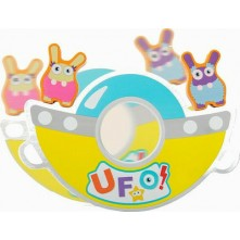 Ξύλινο παιχνίδι ισορροπίας με ufo για παιδιά 3+ ετών