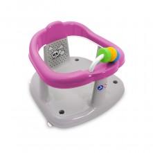 Κάθισμα δαχτυλίδι μπάνιου Lorelli PANDA Pink