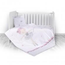 Σετ Προίκας Μωρού 4 Τεμ. Ballet Pink Lorelli Bertoni