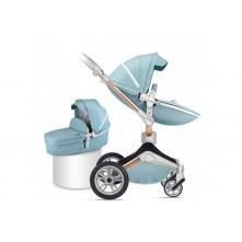 Καροτσάκι μωρού ΗΟΤ ΜΟΜ tiffany blue 360°