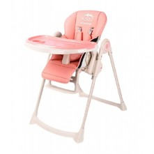 Δερμάτινο κάθισμα φαγητού Wisesonle ροζ