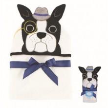 Πετσέτα μωρού με κουκούλα σκυλάκι