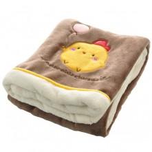 Βρεφική  κουβέρτα με κοτοπουλάκι