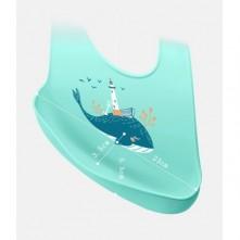Σαλιάρα σιλικόνης φάλαινα