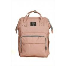 Τσάντα πλάτης μωρού QINDU ροζ