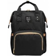 Τσάντα πλάτης μωρού Eposha μαύρη