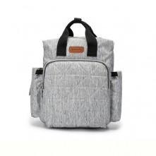 Τσάντα πλάτης μωρού Ankommling γκρι με usb