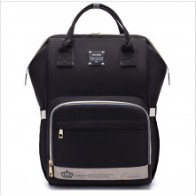 Τσάντα μωρού πλάτης LEQUEEN μαύρη