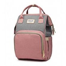 Baby's Τσάντα μωρού πλάτης  ροζ γκρι