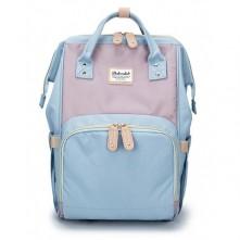 Τσάντα πλάτης μωρού  Doko club γαλάζιο-μωβ