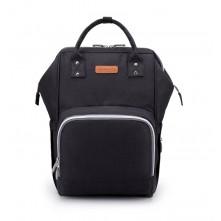 Τσάντα  μωρού πλάτης μαύρη με usb Apkommling