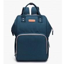 Τσάντα μωρού Ankommling με usb μπλε