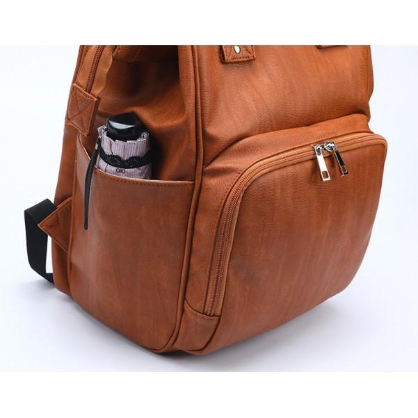Τσάντα πλάτης δερμάτινη ταμπά