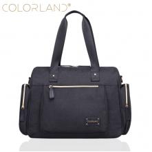 Τσάντα  μωρού αλλαξιέρα Colorland μαύρη