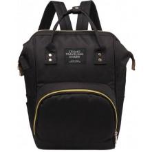 Τσάντα μωρού πλάτης L.T.S. μαύρη