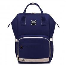 Τσάντα μωρού πλάτης LEQUEEN μπλε