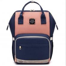 Τσάντα μωρού πλάτης LEQUEEN μπλε-ροζ